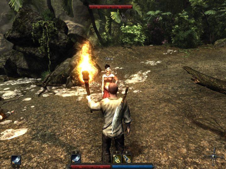 в джунгли с факелом и дубиной.
