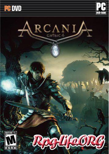 Представлен приблизительный вариант обложки для Arcania