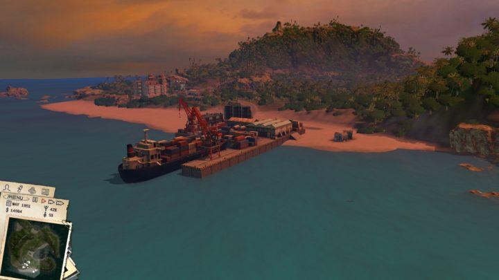 Порт в Tropico III