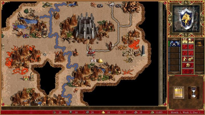 Heroes of Might and Magic III HD - классика жанра и секреты