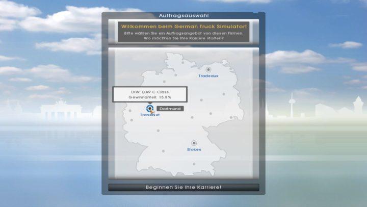 German Truck Simulator - первая стабильная демо-версия игры