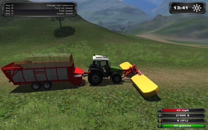 Farming Simulator 2011 и гуманитарная помощь для агрокультуры