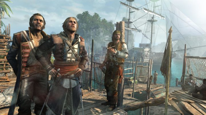 Assassin's Creed® IV Black Flag - спасаем себя трейнером