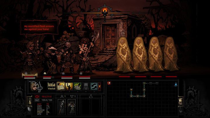 Darkest Dungeon - Изучаем пещеры с электрическим фонарём