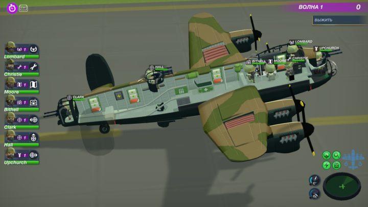 Bomber crew - хроника пикирующего бомбардировщика и трейнер