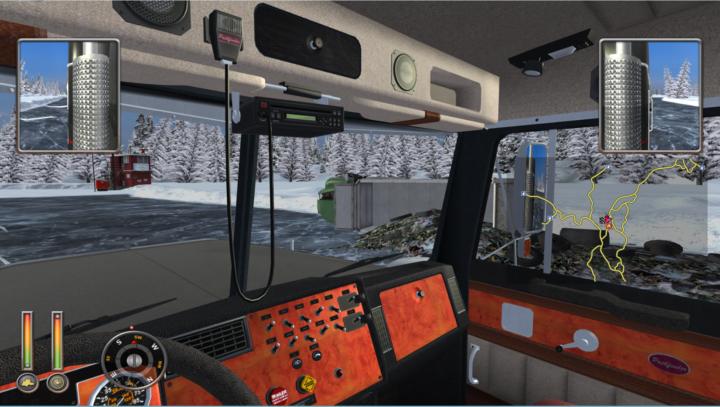 Extreme Trucker - везём не габарит с консольным вводом