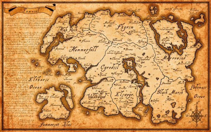 Острова Шеогората и Старые Свитки IV c тильдой