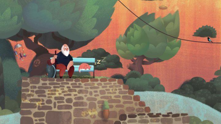 Old Man's Journey - обзор интерактивной открытки с подсказками