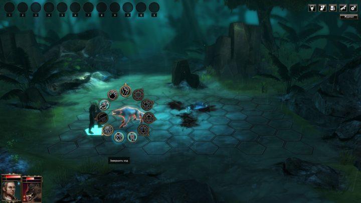 Blackguards - смесь из пошагово-тактической и ролевой игры