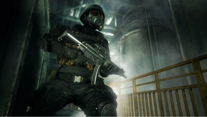 Скриншоты Resident Evil 2 с играбельными Ханком и Тофу
