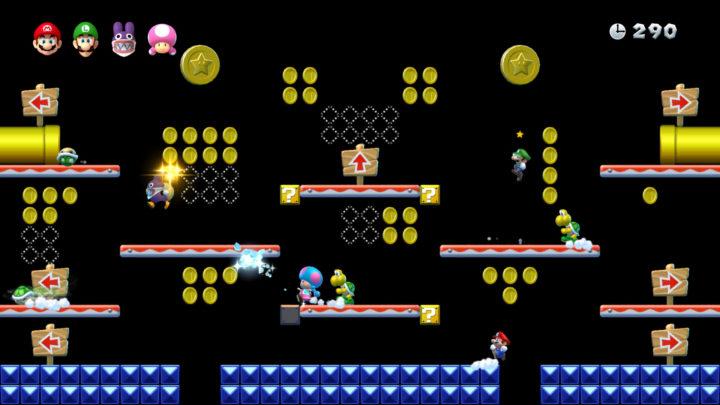 New Super Mario Bros. U Deluxe на Nintendo Switch