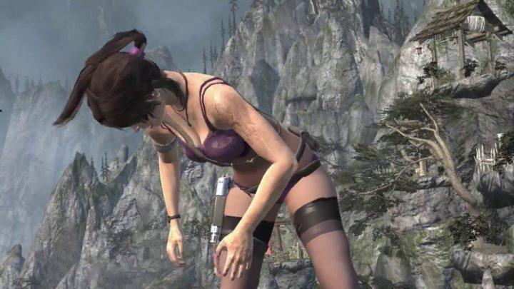Rise of The Tomb Raider - натуристическая модификация