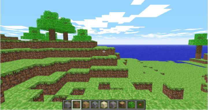 Minecraft Classic можно играть прямо в браузере вашего компьютера