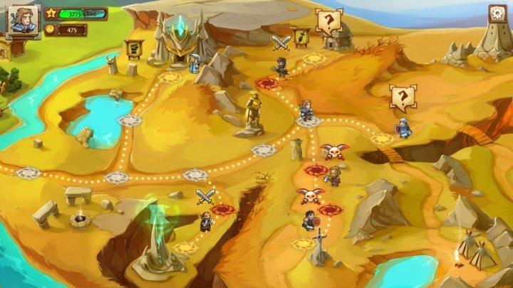 Braveland - пошаговая стратегия с элементами RPG, которая доступна на мобильных устройствах с Android