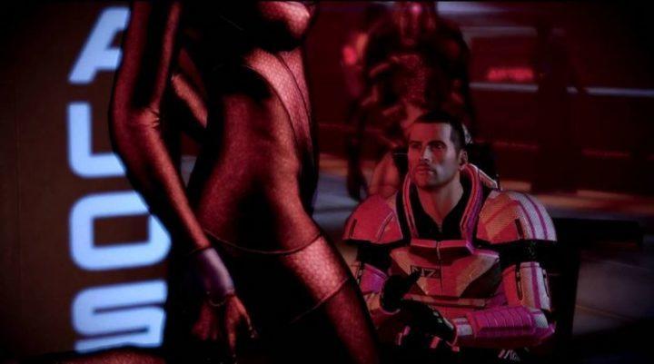Энтузиаст из команды NexusMods раздел барных танцовщиц в дебютной версии Mass Effect