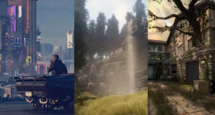 Три условно-бесплатных игровых движка и их графические возможности