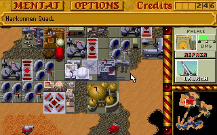 Нетленная стратегия в реальном времени - Dune 2, получила порт на устройства с Android
