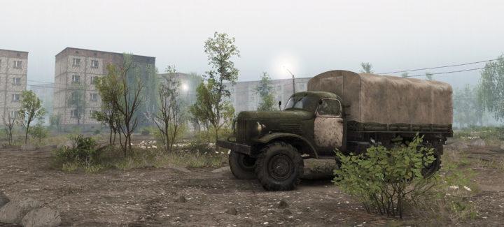 Издатели Spintires анонсировали загружаемое дополнение - карту с локацией чернобыльской зоны